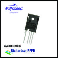 C3M0065100K MOSFETS provide notch between drain and source pins.