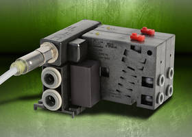 Nitra Pneumatics Valves and Manifolds are suitable for electrical control systems.