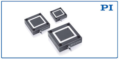 PIHera Piezo Positioners offer vibrationless motion.