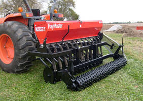 Minimum Tillage Drill Hay Master can renovate pasture.