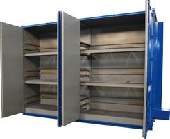 Lewco's Hot Box features compact design.