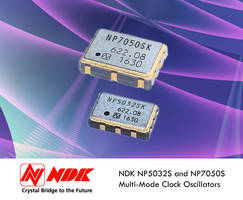 Multi-Mode Crystal Oscillators Combine Wide Frequency Range with Low Jitter