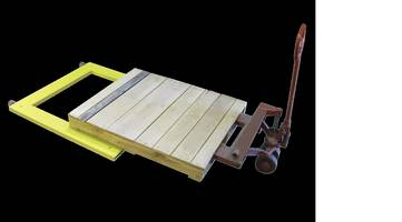 Yellow Jacket U-Shaped Floor Scale for applications utilizing pallet jacks.