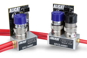 Electronic Pressure Controllers provide 0.25% full-scale NIST-traceable accuracy.