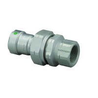 Viega Reducer and Union Fittings feature patented Smart Connect.