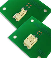 LED Lighting Connector that meets halogen-free requirements.