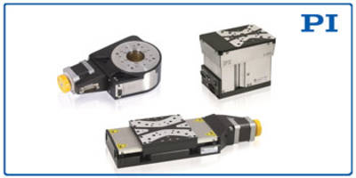 Multi-Axis Positioning Family comes with high-resolution encoders.