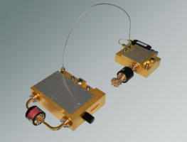 V- and E-band Test Modules offer standard SMA test connection.