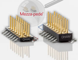 Mezza-Pede SMT DHAL Connector is RoHS compliant