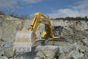 PC650LC-11 Hydraulic Excavator offers auto idle shutdown function.