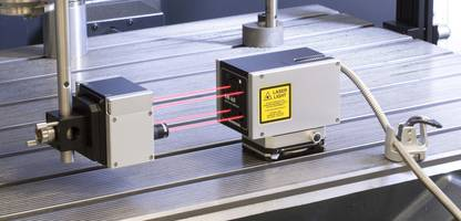 XM-60 Multi-Axis Calibrator features remote fiber optic launch system.