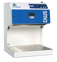 DWS Downflow Workstation provides alarm sound for unacceptable airflow level.