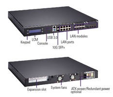 NA720 1U Network Appliance features LCM activity indicator.