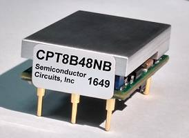 100W 16th Brick DC-DC Converters Available with Baseplate Heat Spreader
