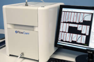 FlowCam Macro Imaging System for particles of subvisible sizes.