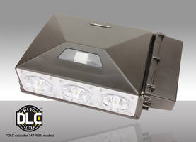 Architectural-Grade LED Wall Pack comes with external battery backup option.