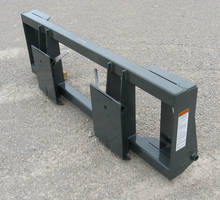 Tractor Adapters are capable of converting loaders to universal skid steer mount.