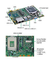 CAPA500 Embedded Board features SATA-600 interface.