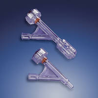 Hemostasis Valves accommodate devices ranging 0-4.5 FR or 0-7 FR.