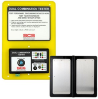 Dual Combination Tester features relay terminal.