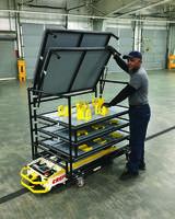 Drawbridge Cart comes with A-HPL hitch.