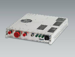 25W Ku-Band High Power Transceiver offers complete airborne Satcom solution.