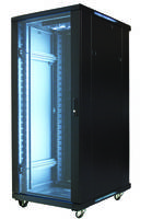 EREN-27E1K Equipment Rack Enclosure features vented top and bottom.