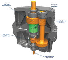 550HP Compressor Gearbox comes in compact vertical package.