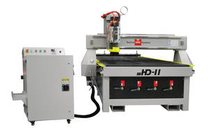HD-II CNC Router features steel construction.