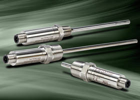 XTP Series Transmitter Probes eliminate need for separate adapter fittings.