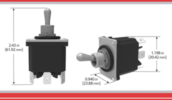 Sealed Switches & Controls from Carling Technologies