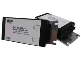 EVD 500 Series DC/DC Converters feature remote on/off.