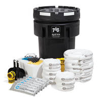 Fuel Station Spill Kit comes with UV resistant container.