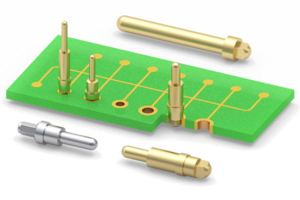 Press-Fit PCB Pins offer high mechanical strength.