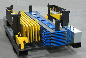LP350 Skidding System is capable of pushing loads up to 350 tons.