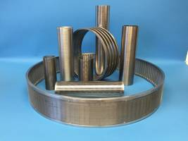 SANIWEDGE™ Wedge Wire Screen is resistant to abrasion.