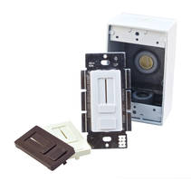 LED Driver + Dimmer Switch comes in single integrated unit.