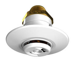 VK478 Flush Pendent Sprinkler features ceiling ring design.