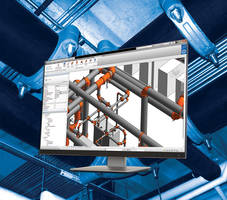 Mechanical Suite for Revit enables user to create virtual piping project.