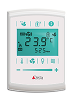 eZNTW Programmable Thermostat features onboard Wi-Fi.