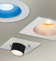 Nora Lighting® Iolite LED Modular Downlight Features Decorative Accessories for Visual Effects