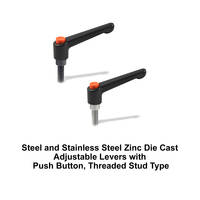 Zinc Die Cast Adjustable Levers are RoHS compliant.