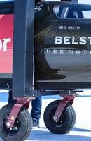 Sweet chariot ride! Hamilton hauls Triumph Rocket