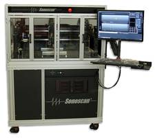 J610 Acoustic Microscope uses Sonoscan's PolyGate™ software.