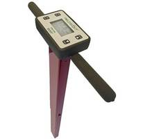 FieldScout TDR 350 Soil Moisture Meter comes with backlit LCD display.