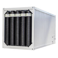 Multiple Element Gas Containers are suitable for rough road conditions.