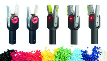 2016 Series Sprue Grippers enable quick and easy replacement.