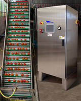 Pulsed Electric Field System is housed in NEMA 4 stainless steel enclosure.