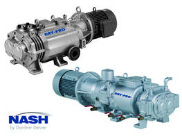 DRY-PRO Vacuum Pumps come with fixed or variable pitch screw rotors.
