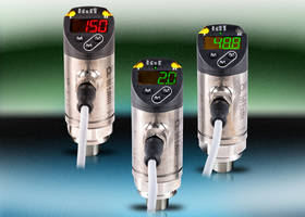 EPS-Series Digital Pressure Sensor can be set up using pushbutton.